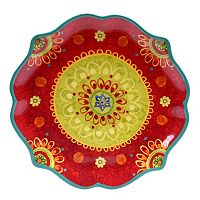 Certified International Tunisian Sunset 13.25-in. Round Serving Platter