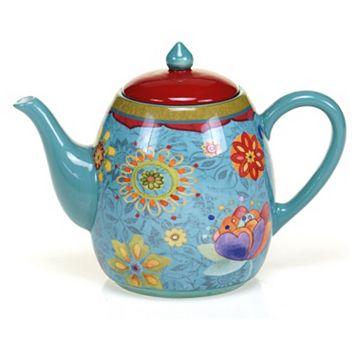 Certified International Tunisian Sunset 40-oz. Teapot