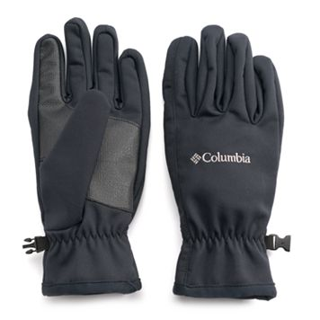 Men's Columbia Smooth Spiral Omni-Shield Softshell Gloves