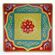 Certified International Tunisian Sunset 14.25 in Square Serving Platter
