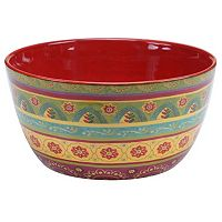 Certified International Tunisian Sunset 11 in Deep Serving Bowl