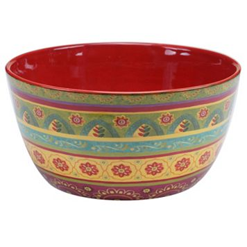 Certified International Tunisian Sunset 11-in. Deep Serving Bowl