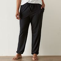 Plus Size SONOMA Goods for Life™ Back to Basics French Terry Jogger Pants