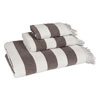 American Dawn Brooklyn Fringe 3-piece Bath Towel Set