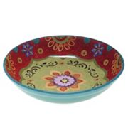 Certified International Tunisian Sunset 13.25 in Pasta Serving Bowl