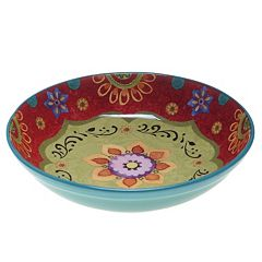 Certified International Tunisian Sunset 13.25-in. Pasta Serving Bowl