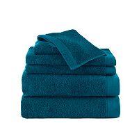 IZOD Egyptian Cotton 6-piece Bath Towel Set
