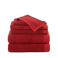 IZOD Egyptian Cotton 6 pc Bath Towel Set