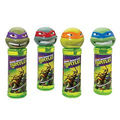 Teenage Mutant Ninja Turtles 4 pkBottles of Bubbles Set by Little Kids