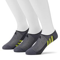 Men's adidas 3-Pack climalite No-Show Socks