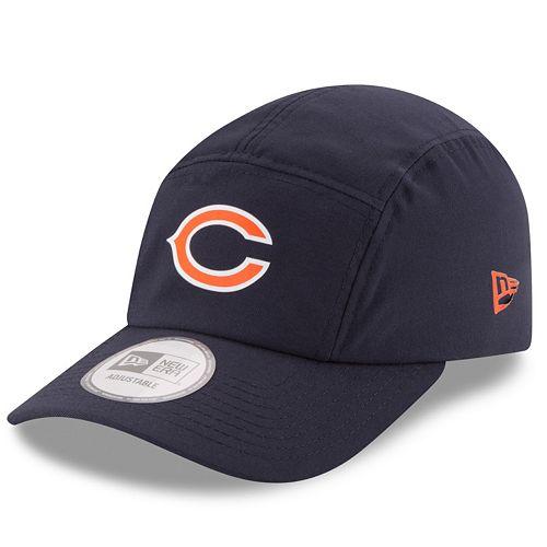 Adult New Era Chicago Bears Training Runner Adjustable Cap
