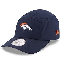 Adult New Era Denver Broncos Training Runner Adjustable Cap