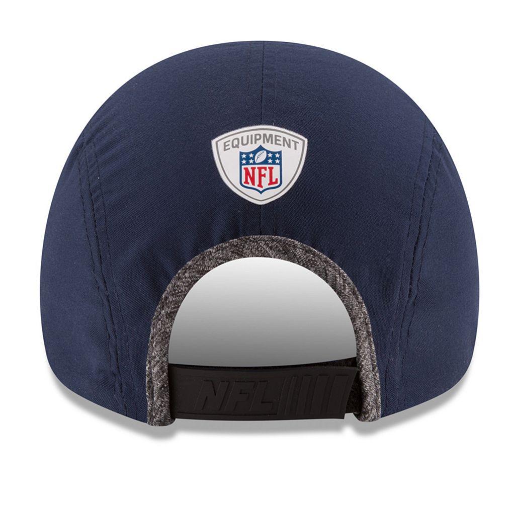 Adult New Era Denver Broncos Training Runner Adjustable Cap