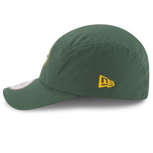 Adult New Era Green Bay Packers Training Runner Adjustable Cap