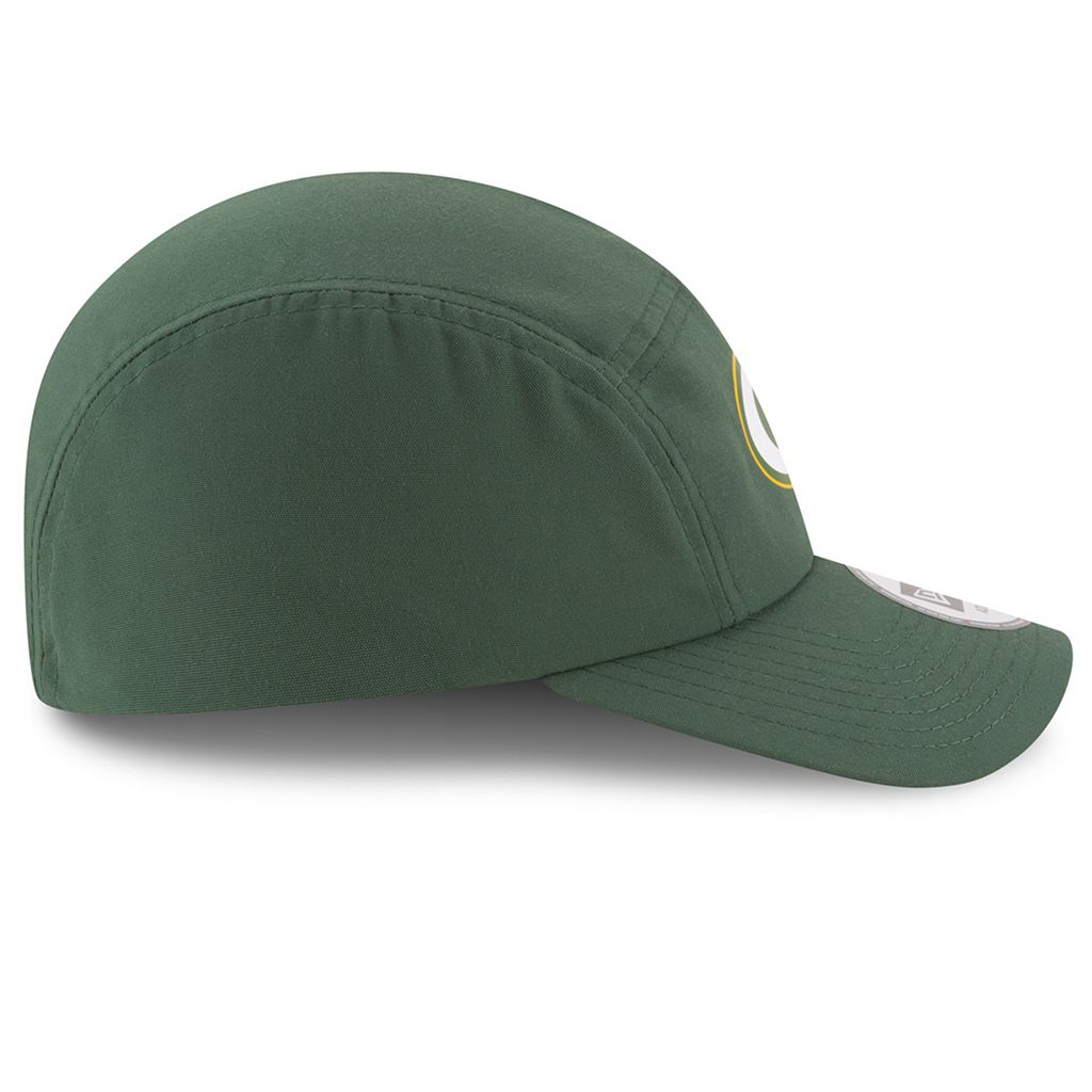Adult New Era Green Bay Packers Training Runner Adjustable Cap