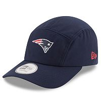 Adult New Era New England Patriots Training Runner Adjustable Cap