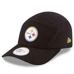 Adult New Era Pittsburgh Steelers Training Runner Adjustable Cap