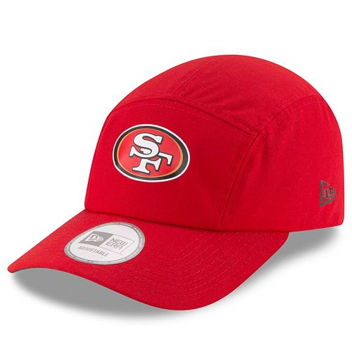 Adult New Era San Francisco 49ers Training Runner Adjustable Cap