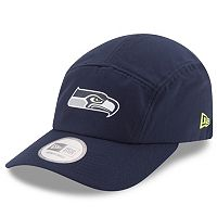 Adult New Era Seattle Seahawks Training Runner Adjustable Cap