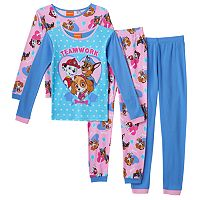 Girls 4-10 Paw Patrol 4-pc. Teamwork Pups Pajama Set