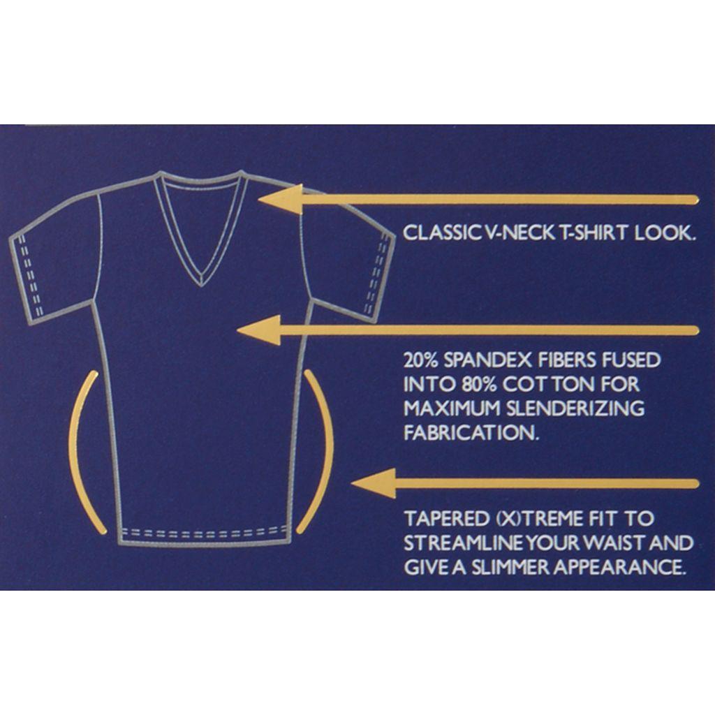 Men's 2DEFINE Shapewear V-Neck Tee