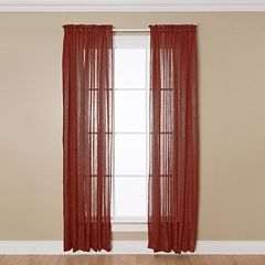 Miller Curtains 1-Panel Aria Window Curtain - 51'' x 84''
