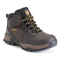 Columbia Newton Ridge Boys' Waterproof Hiking Boots by
