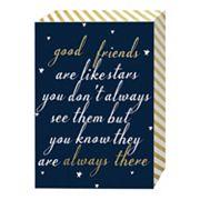 Belle Maison 'Good Friends Are Like Stars' Box Sign Art