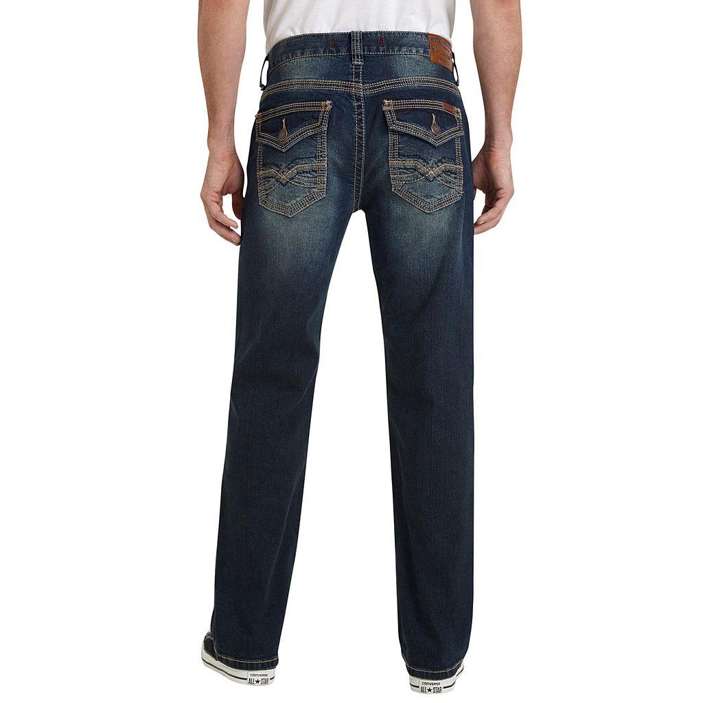 Men's Seven7 Speaker Stretch Straight-Leg Jeans