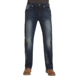 Men's Seven7 Speaker Stretch Straight-Leg Jeans