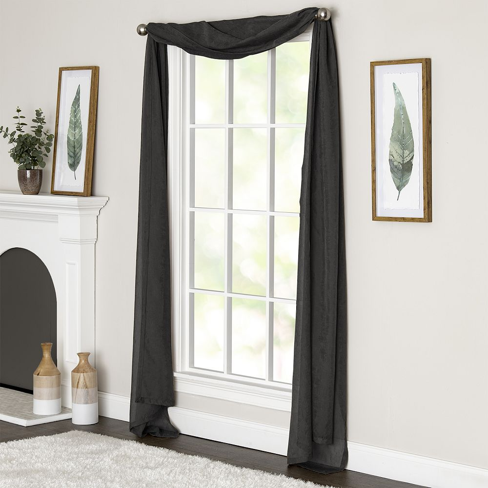 Miller Curtains Preston Window Scarf