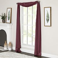 Miller Curtains Preston Window Scarf
