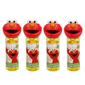 Sesame Street 4-pk. Elmo Bubble Heads Bubble Pack by Little Kids