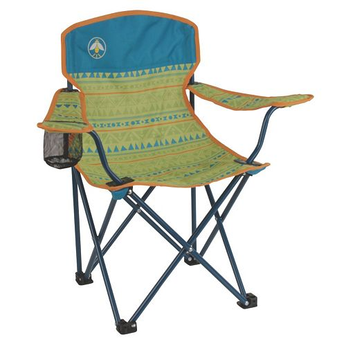 Kids Coleman Glow-In-The-Dark Quad Camping Chair