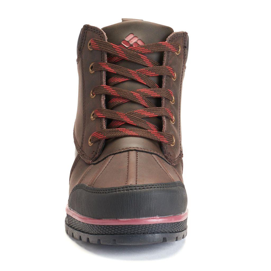 Columbia Wrangle Peak Boy's Waterproof Duck Boots