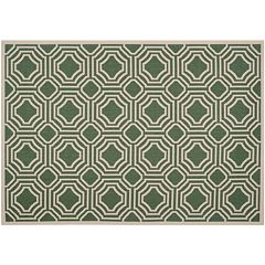 Safavieh Courtyard Geo Indoor Outdoor Rug
