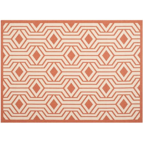 Safavieh Courtyard Diamond Geometric Indoor Outdoor Rug