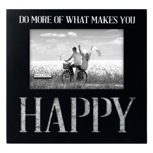 "Malden ""Happy"" 4"" x 6"" Expression Frame"