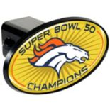 Denver Broncos Super Bowl 50 Trailer Hitch Cover