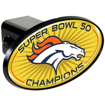 Denver Broncos Super Bowl 50 Trailer Hitch Cover