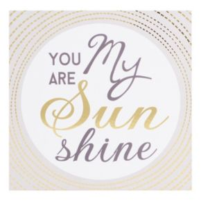 "Belle Maison ""You Are My Sunshine"" Box Sign Art"