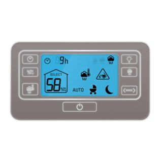 Rowenta Intense Aqua Control Ultrasonic 360° Humidifier with Baby Mode