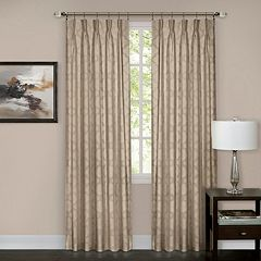 Achim Windsor Pinch Pleat Window Curtain