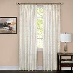Achim Windsor Pinch Pleat Window Curtain