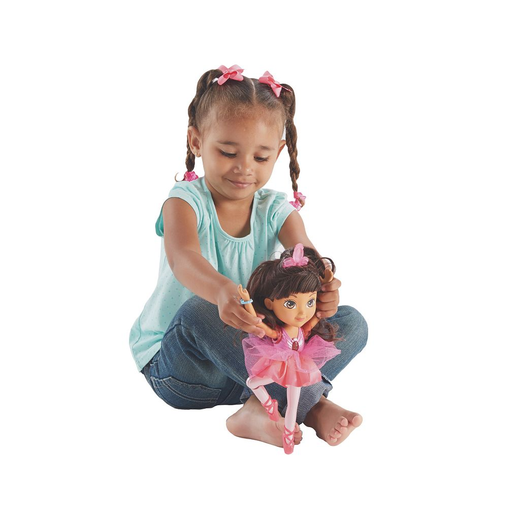 Fisher-Price Dora and Friends Sparkle & Spin Ballerina Dora Doll