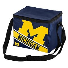 Forever Collectibles Michigan Wolverines Lunch Bag Insulated Cooler
