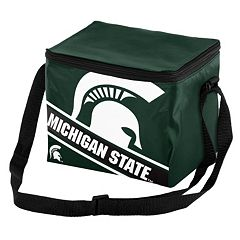 Forever Collectibles Michigan State Spartans Lunch Bag Insulated Cooler