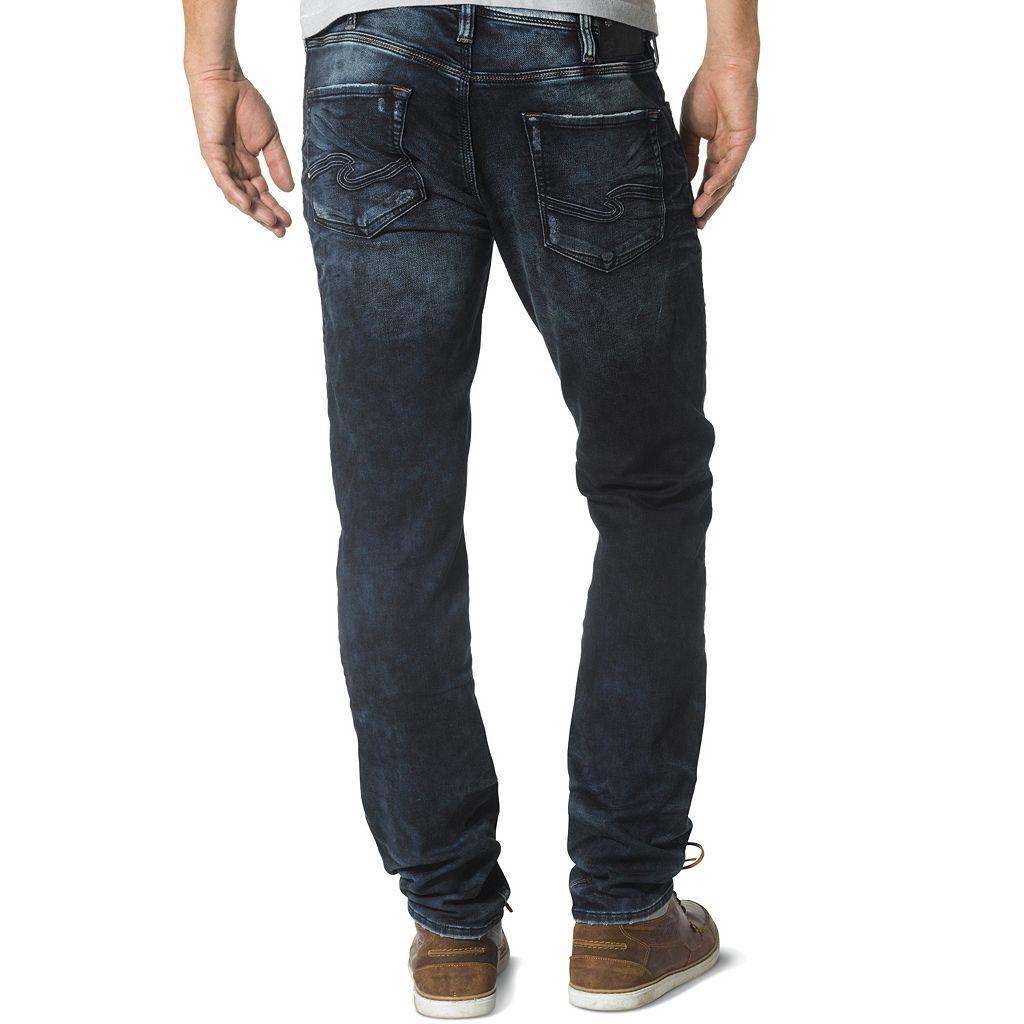 Men's Silver Jeans Allan Slim-Straight Jeans
