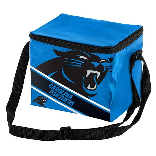 Forever Collectibles Carolina Panthers Lunch Bag Insulated Cooler