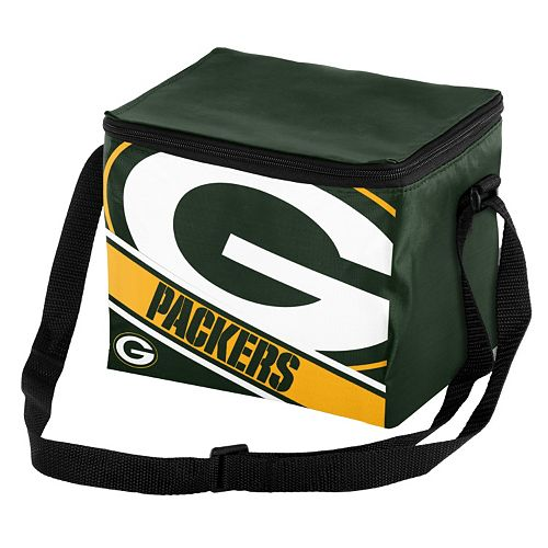 Forever Collectibles Green Bay Packers Lunch Bag Insulated Cooler